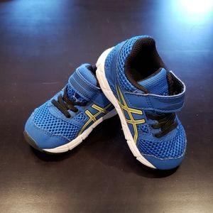 Asics Blue Toddler Athletic Shoes